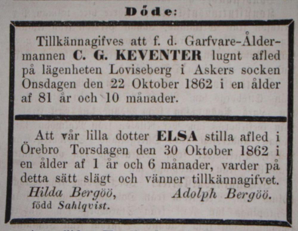 Annonser 1862-11-01_Elsa
