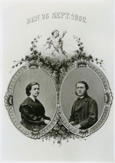 Augusta och Rudolf Gagge